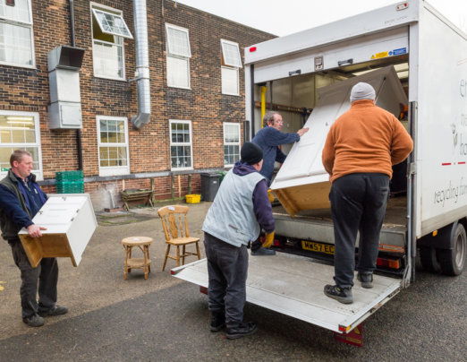 Emmaus Bolton secures funding for new recycling centre