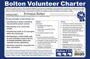 Emmaus Bolton - Bolton Volunteer Charter
