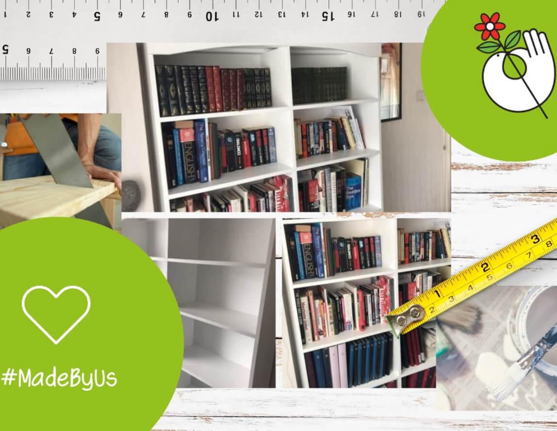 Bespoke bookshelf brings family joy