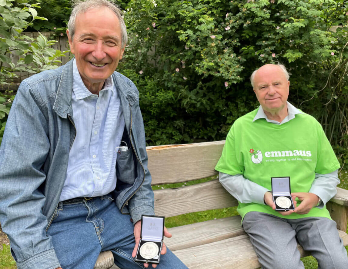 Charity founders receive special medals
