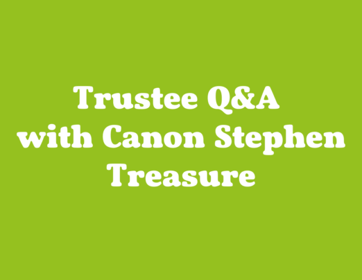 Q and A with Emmaus Bradford Trustee Canon Stephen Treasure