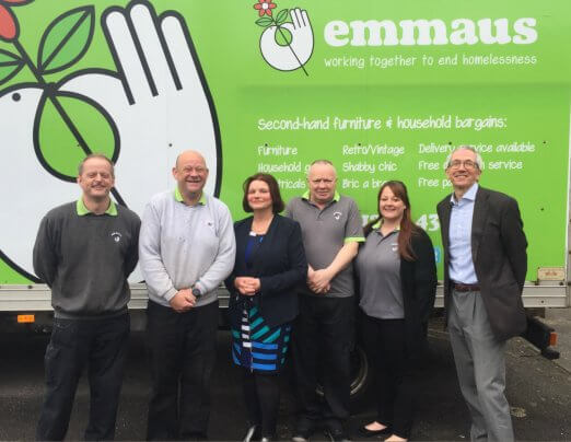MP Julie Cooper visits Emmaus Burnley