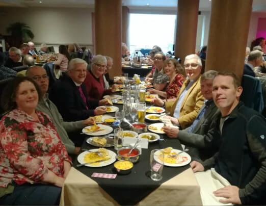 Emmaus Burnley benefits from curry night