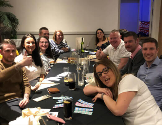 Curry lovers Usha support for Emmaus Burnley