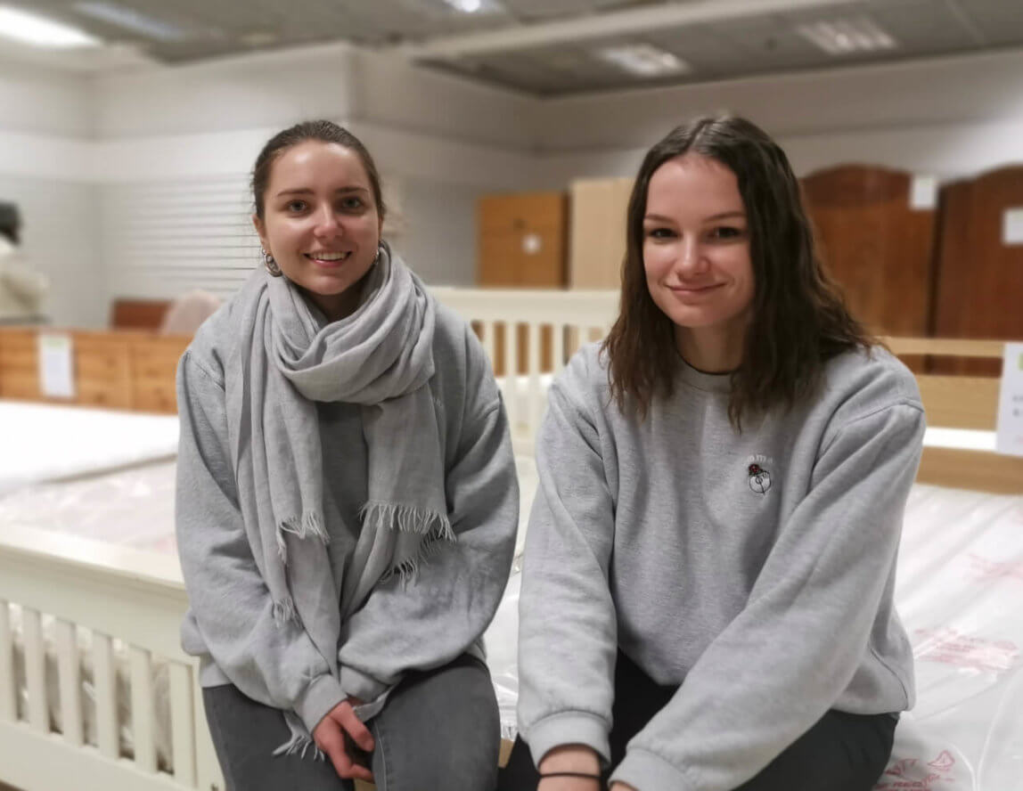 French students support Emmaus Department Store