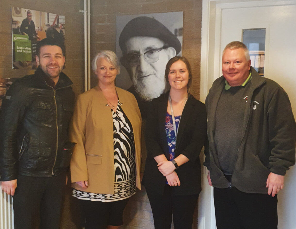 Gradient Consulting pledges support to Emmaus Burnley