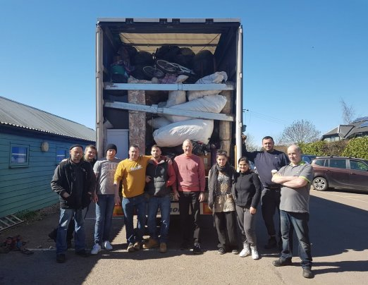 Emmaus Cambridge sends goods worth £10,000 to Romania
