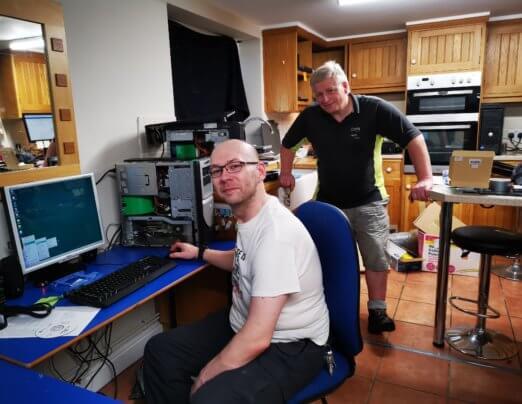 Tech recycling enterprise saved by Emmaus Cambridge