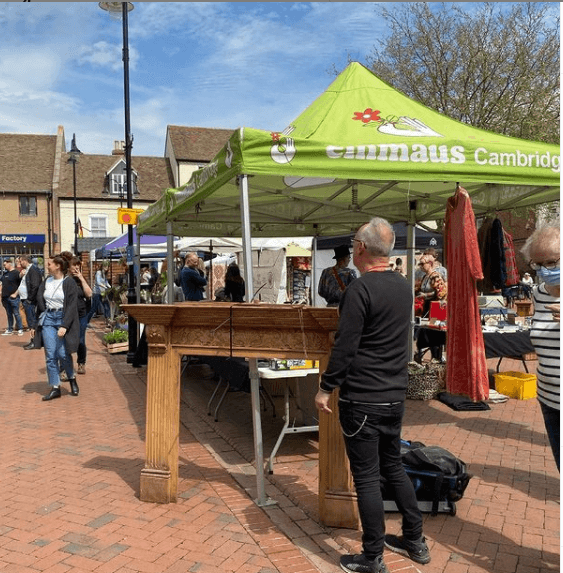 Emmaus Cambridge at Ely Market