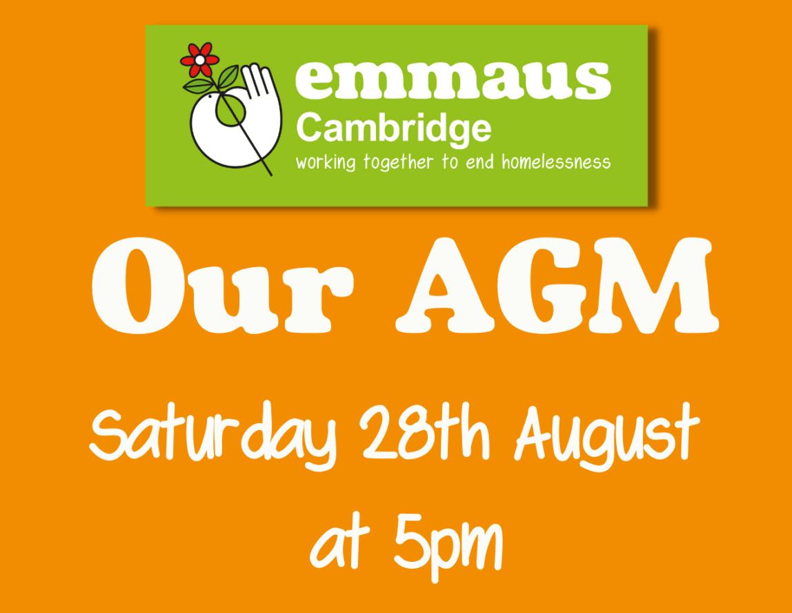 Emmaus Cambridge AGM 2021