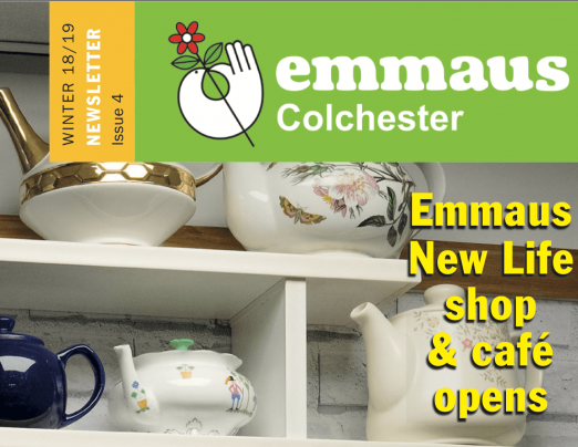 Emmaus Colchester's Winter Newsletter