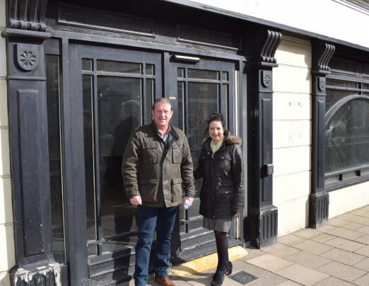 New charity shop and café on Crouch Street