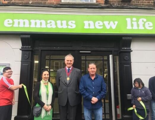 Emmaus Colchester moves into new home on Crouch Street