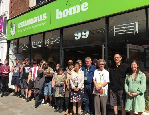 Emmaus Colchester Home Shop reopened by long-time volunteer