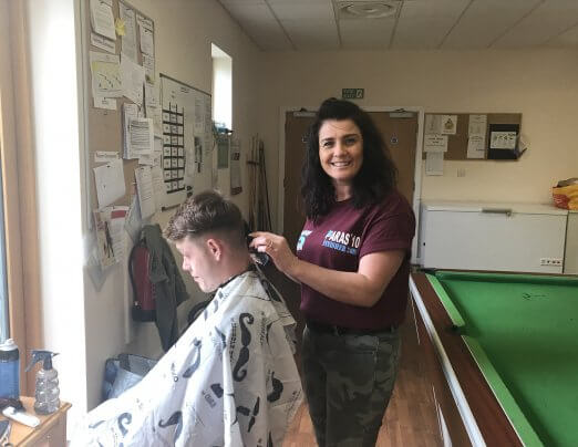 Local barber praised during Volunteers' Week