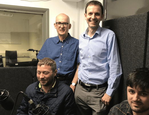 Emmaus Colchester takes part in Colchester Chat podcast