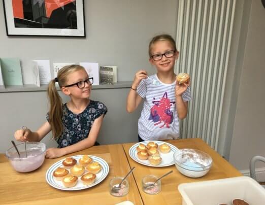 Young fundraisers raise cake-tastic results