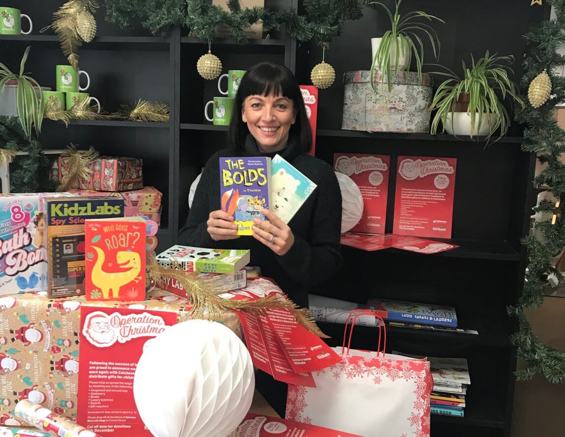 Emmaus Colchester launches Operation Christmas