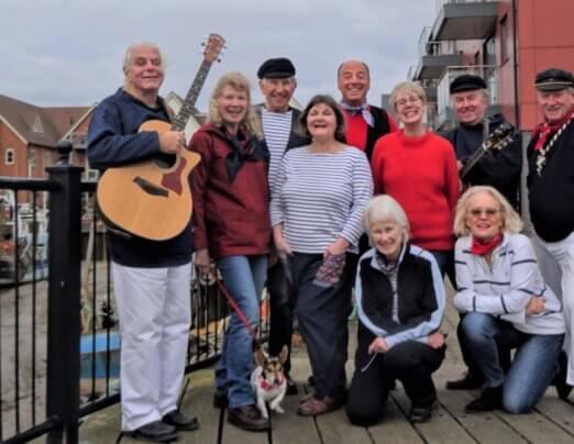 Sea Shanty Singers raise money for Emmaus Colchester