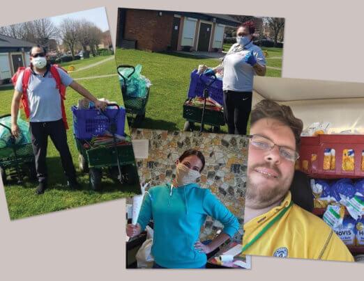 Go4 Café donates food to Emmaus Colchester