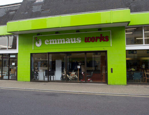 Emmaus Colchester reopens for business
