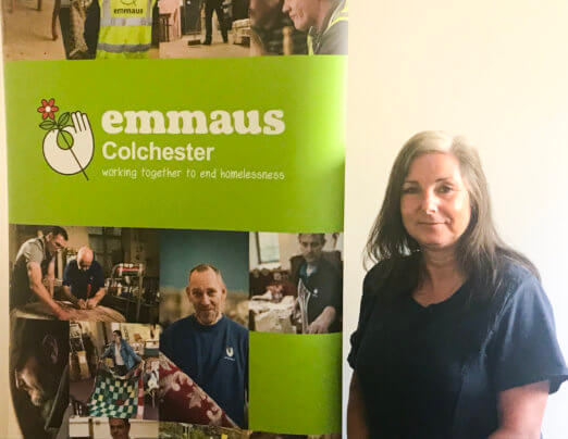 Emmaus Colchester secures award from National Lottery Community Fund