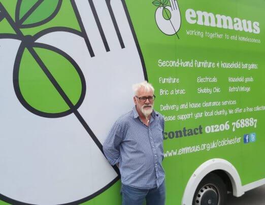 New driver joins Emmaus Colchester