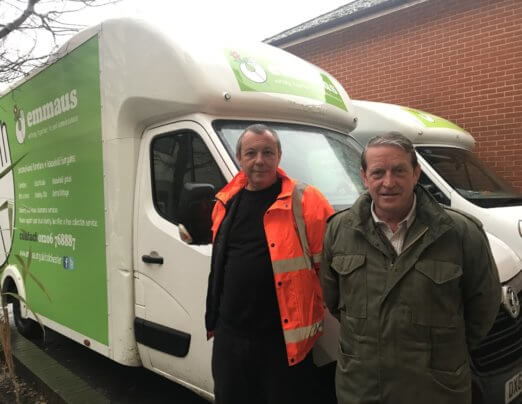 Funding boost for Emmaus Colchester