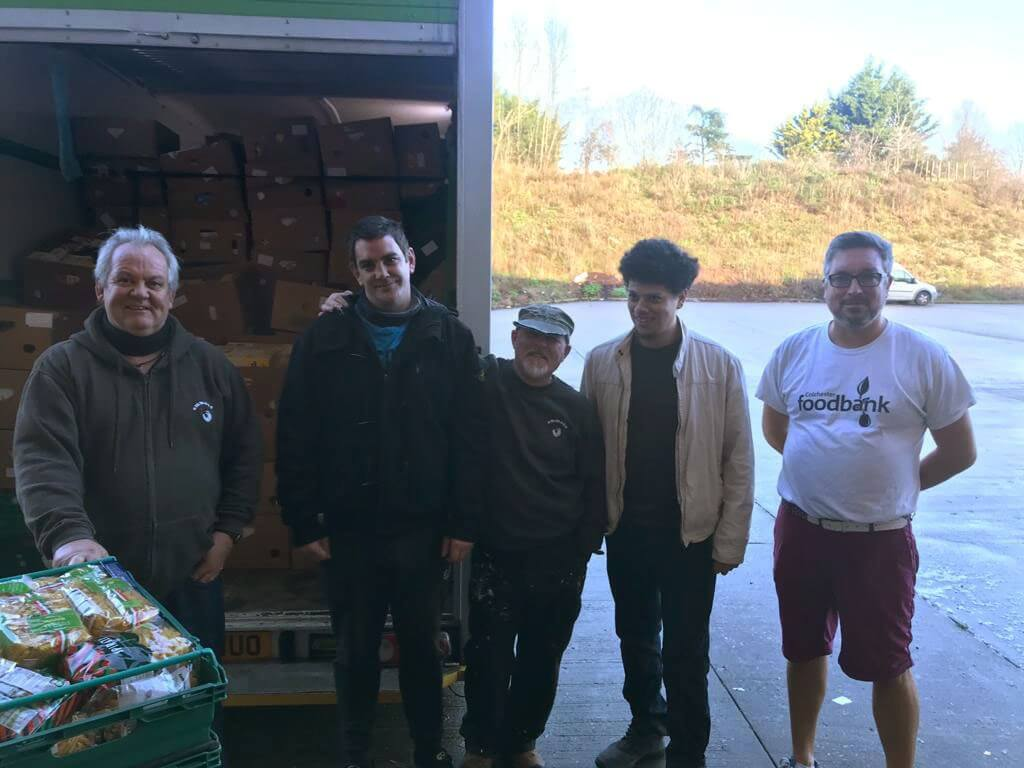 Colchester Foodbank moves on with Emmaus Colchester's help