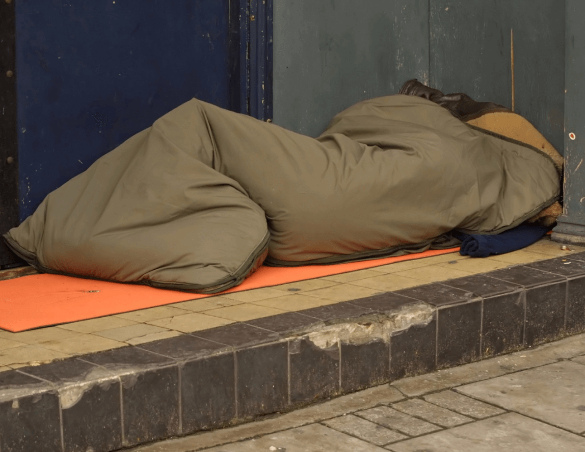 ONS research shows that homelessness is still an issue in Essex