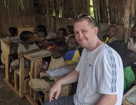 Visit to help Emmaus Togo