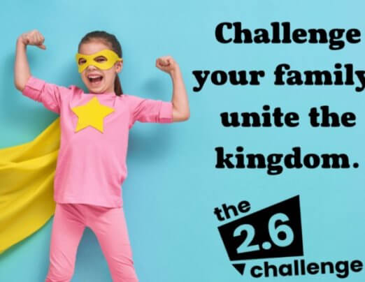Save The UK's Charities 2.6 Challenge