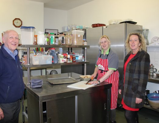 Port of Dover development donates canteen equipment to Emmaus Dover