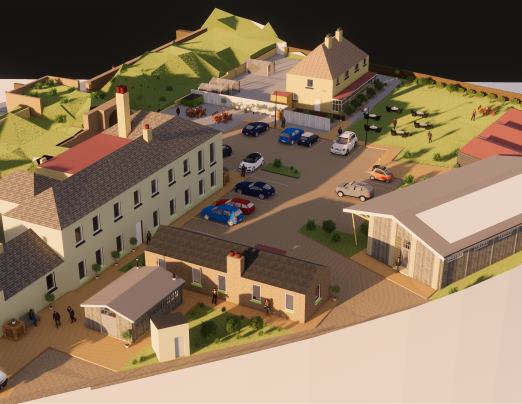 An exclusive look at the plans for our new site at Archcliffe Fort
