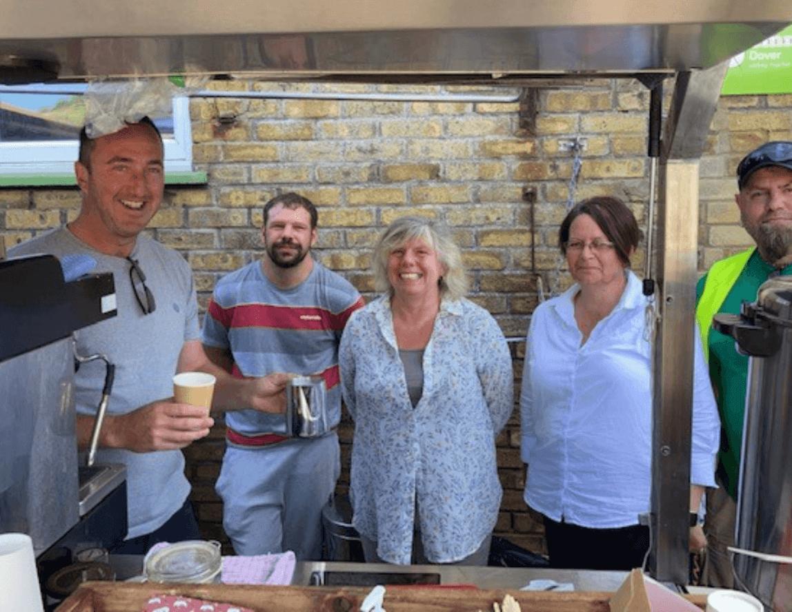 Emmaus Dover companions undergo barista training