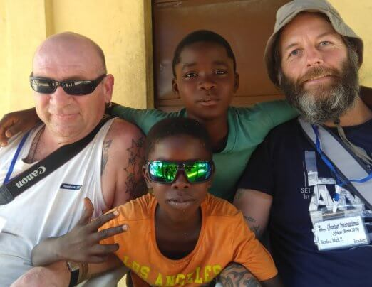Companion Gav's solidarity trip to Benin