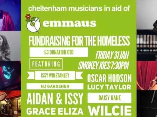 Cheltenham Musicians fundraising for Emmaus
