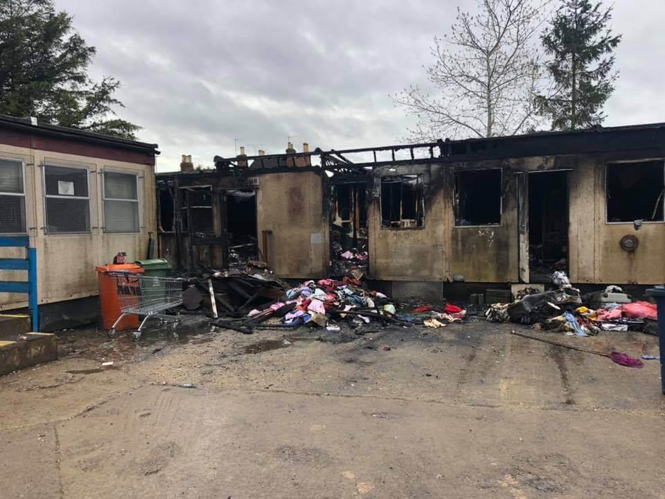 Fire breaks out at Emmaus Gloucester shop