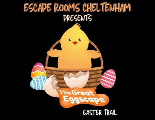 Emmaus Cheltenham shop taking part in The Great Eggscape Easter Trial