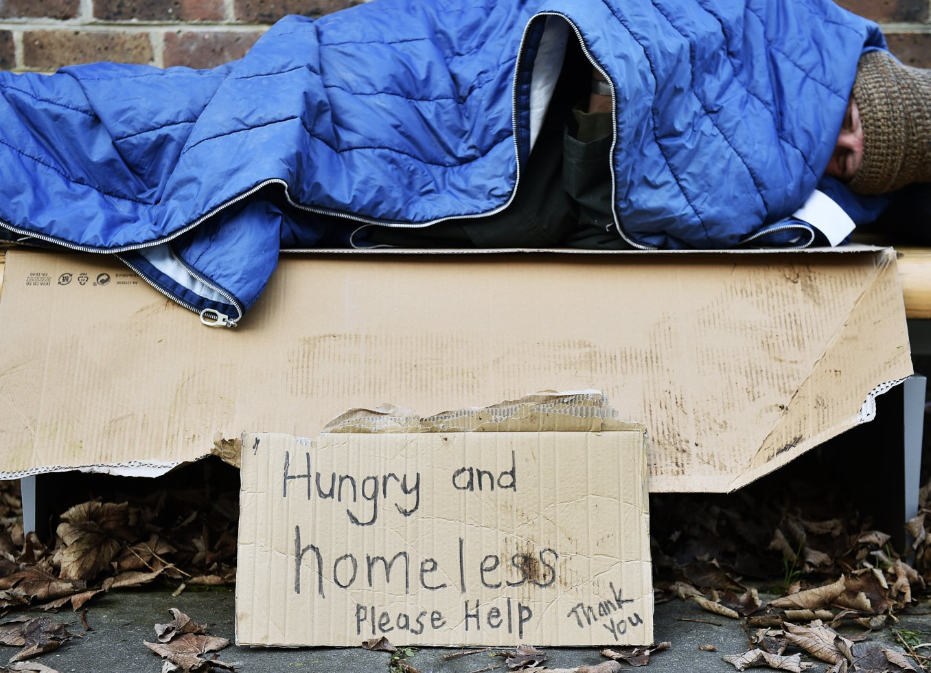 Why do people become homeless?