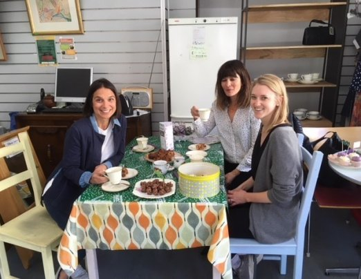 Emmaus Greenwich raises over £160 from Macmillan Coffee Morning