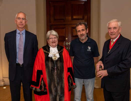 Selected as charity of the year by Mayor of Greenwich