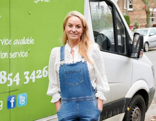 Ex-EastEnders star Tamzin Outhwaite donates household electricals