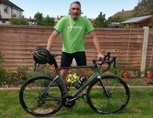 Mark's 3 decades of Emmaus cycling challenge