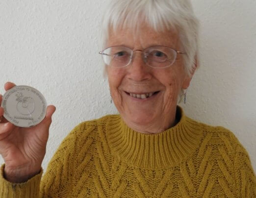 Beryl's Emmaus UK Founders' Medal