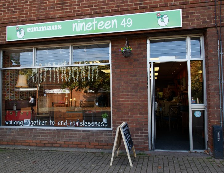 Our charity furniture shops