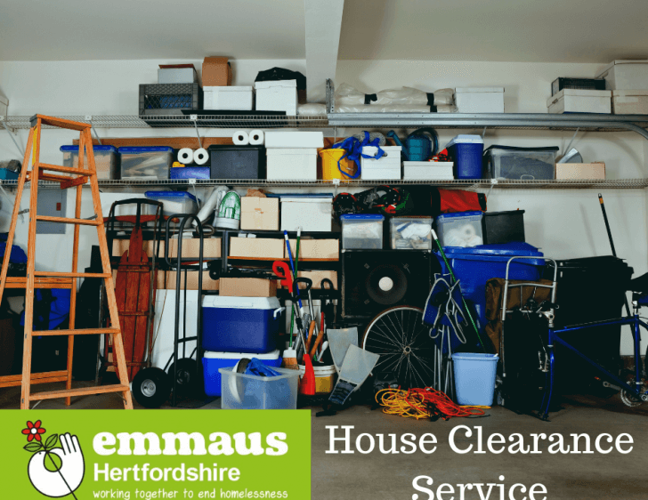 Emmaus Hertfordshire's House Clearance Service
