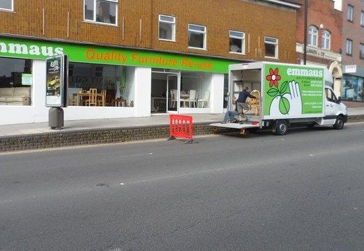 Emmaus Barnet shop closing