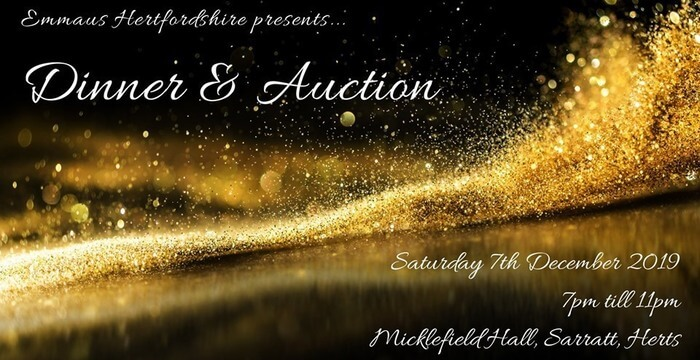 Emmaus Hertfordshire Dinner & Auction