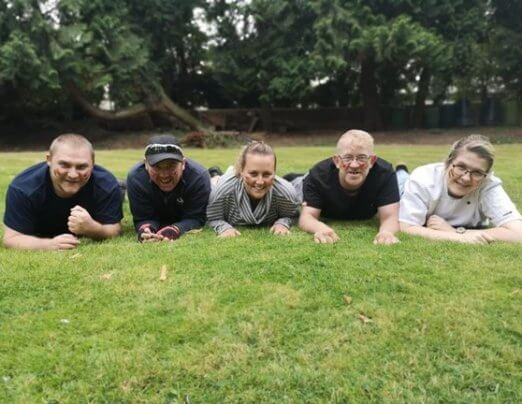 Team of formerly homeless people set to get muddy for charity
